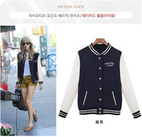 New Winter Women Coat Jacket baseball Jackets Jaqueta Feminina Plus Size Women'S Clothing Preppy Style
