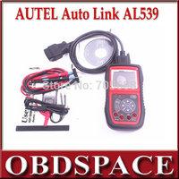 DHL Free OBDII+Electrical Autolink AL539 Test Tool Autel Auto Link AL-539 Internet Update Multilingual menu
