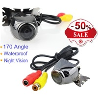 Good quality Universal Car Rear view Parking Assistance Camera HD Color Night Version Reverse Drive with 170'' Wide view Angle