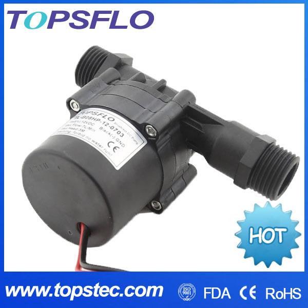 TL-B08H-12/24-0703 High temperature 100 celsius silent long life span mini beer brewing pump(China (Mainland))