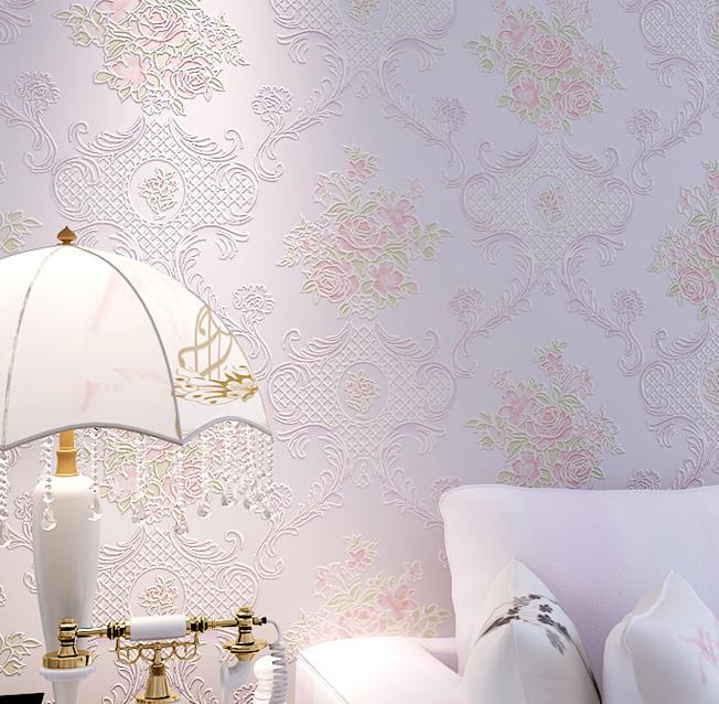 Pin Landelijke Stijl Behang 2015 Mode Behang Voor Slaapkamer Designer ...