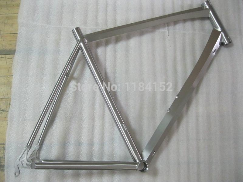titanium road bike frame for 700c disc brake or V brake cheap price made in China(China (Mainland))