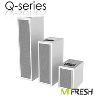 Mfresh portable air purifier Q3 with sleep auto mode and air indicator, LED operate panel, Ture Hepa and Active carbon filters