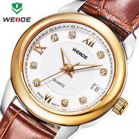 Chrismas gift  2014 new luxury brand genuine leather straps watches analog crystal diamond casual sports women dress watches