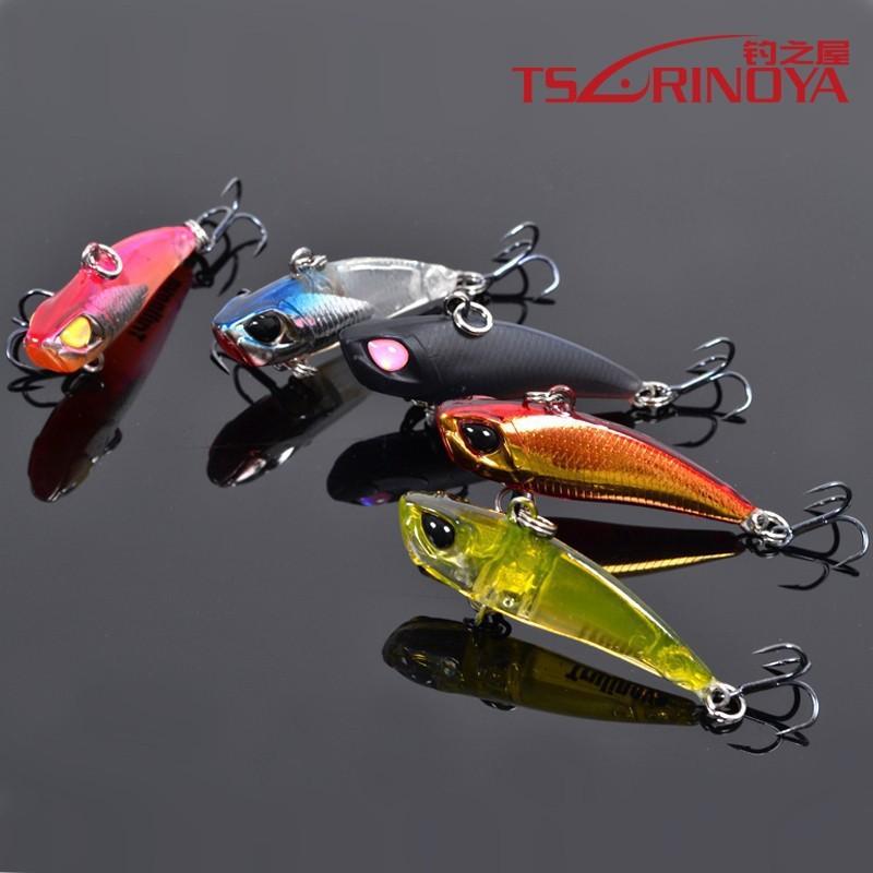 trulinoya 5pcs/lot fishing lures, assorted colors,VIB,metal lure,40mm 3.8g, sinking,free shipping(China (Mainland))