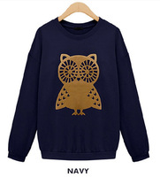 Free shipping  Autumn new  preppy style Sweater  thin  long sleeve   H003