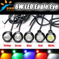 2pcs Daytime Running Light Eagle Eye LED Aluminum parts kit Eagle Eyes auto lamps eagle eye led tail lamp universal drl eagle