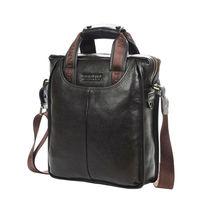 2014 Genuine Cowhide Leather Men's Shoulder Bag Quality Men Business Messenger Bags Large Size Briefcase for Man BS1001