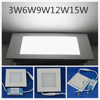 25W AC 86-265V SMD2835 2500LM led Square Ceiling Panel Lights Wall Recessed Free Shipping