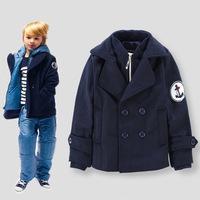 Wholesale Boys Coat Winter Wool Jackets for Boys Brand Autumn Children Outerwear 6pcs/lot Kids Clothes Baby Boys Jackets 100-150