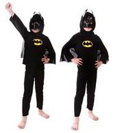 2014 Muscle Batman Outfit Boy Kid Halloween Party Cosplay Costume Fancy Dress