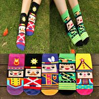 2014 Autumn New Hot Sale Women socks Cute cartoon socks cotton south Korean Creative Whimsy women's fashion socks