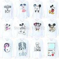 best quality 2014 New Harajuku 3D Print Sweatshirt Hoodies Sportswear Women's Sweaters Pullovers Winter Women Hoody Tracksuits