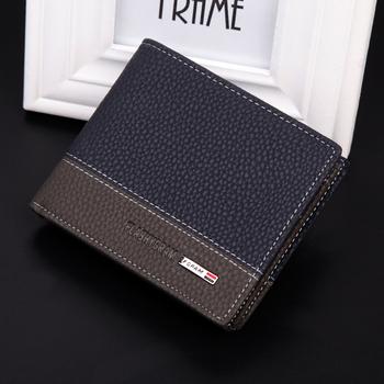 2014 новинка бренд бумажник мужская бумажник высокое качество искусственная кожа ...