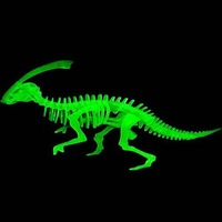 2014 Newest 3D Light Three-dimensional Jigsaw Puzzle vivid Dinosaurs models Eco friendly luminous Educational Toys for children