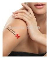 Hot Sale!!!!! New Arrival Waterproof Tattoo Sticker Cartoon Strawberry lollipop camera Tatto (10pcs/lot),Wholesale Free Shipping