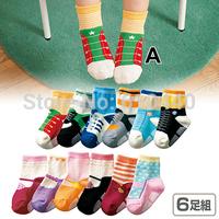 2014 new Multi-colors Cotton baby socks New born Baby socks booties baby cartoon socks for infants children anti-slip socks