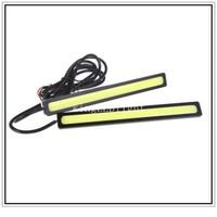 EMS Free! 20pcs Super Bright 17cm LED Car DRL lamp Fog Driving Light COB Car LED Daytime Running Light
