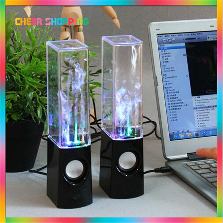 USB Water Spray Mini Speaker Water Speaker Music Fountain USB Water Spray Speakers music fountain speaker(China (Mainland))