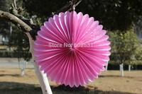 20pcs/lot 30 cm tissue paper fan Wedding party paper decoration wedding arrangement paper fan paper flowers balls