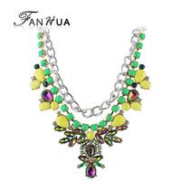Bohemian Necklace  Alloy New Collares Etnicos Designer Choker Necklace For Women