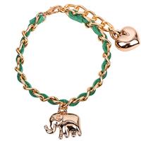 elephant charm bracelet women unique bracelet 2014 top sell bracelet