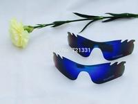 new glasses  lens Polarized lens for radar lock  sunglasses lens for radar path Wholesale blue colors