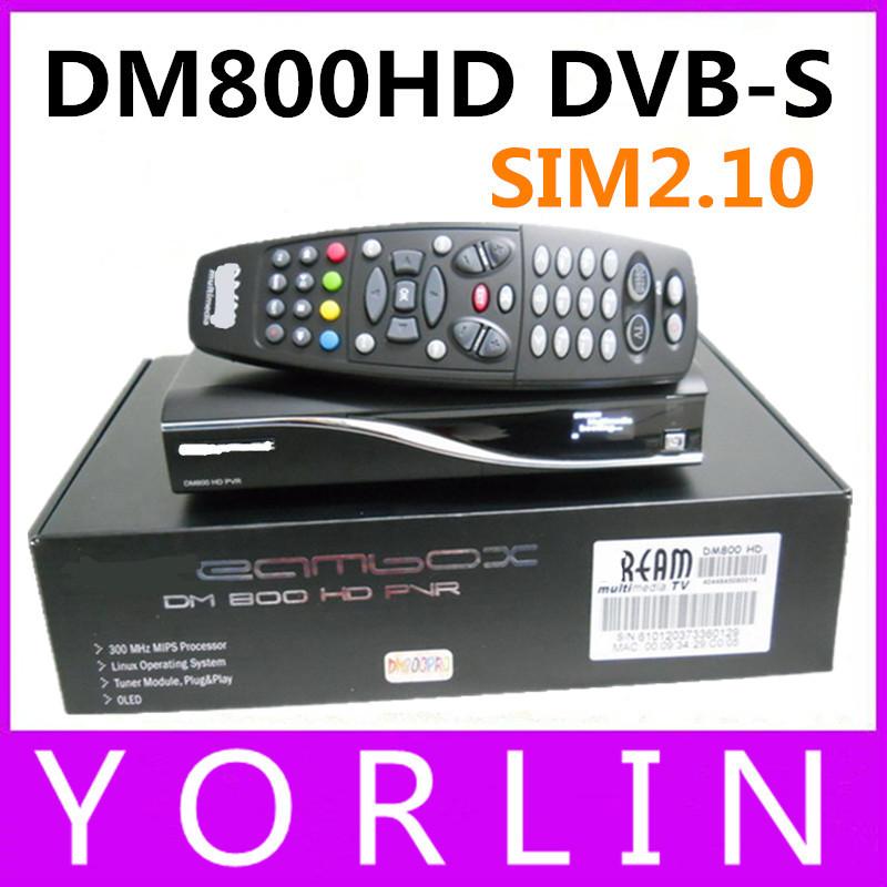 DHL free shipping DM800HD Pro DVB-S Satellite Receiver DM800 HD PVR BL84 SIM2.10 Bootloader#84 REV M Tuner DM800SE DM800s HD PVR(China (Mainland))