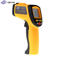 BENETECH GM700 -50~700C LCD IR Infrared DigitalTemperature GunThermometer (-58~1292F) Emissivity:0.95 Infrared Thermometer