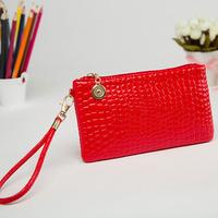 2014 new fashion   crocodile handbag lady bag fashion trend bag free shipping.