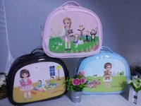 doll patent leather casual Shoulder Messenger backpack Specials cartoon cute girl handbags for 5-7 years old 4 colors