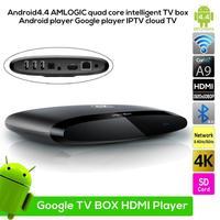 Amlogic s802 Quad Core CPU 2G/8G smart V4.4 Android TV Box Mali450 GPU 4K Support HDMI Bluetooth 4.0 Google player IPTV cloud TV