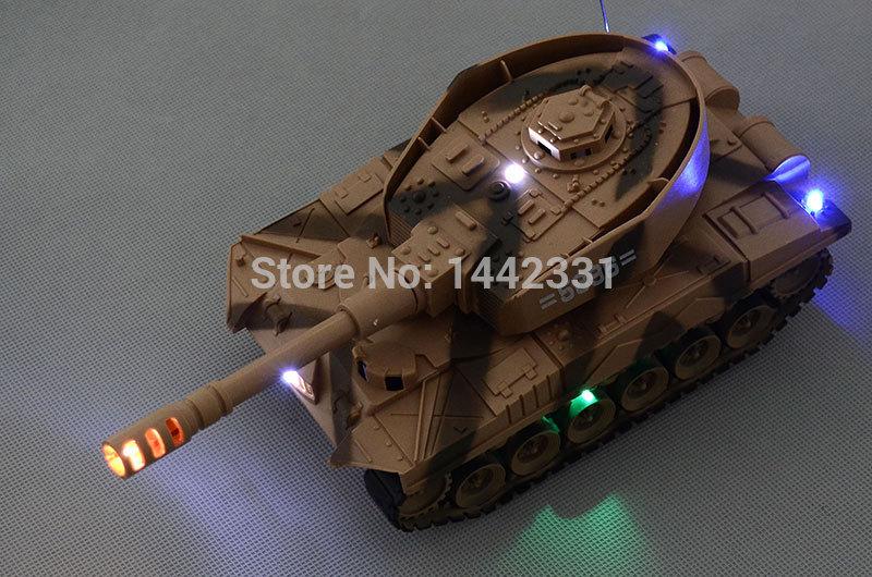 Military Battle Sound Light Tank Panzer Rc Radio Remote Control Motor Xmas Gift Party Fun Kid Child Toy Family(China (Mainland))