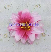4C available DIA 12cm Fabric Artificial pink lotus silk flowers DIY accessories arch flowers wedding flower vine decoration