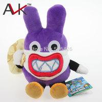 "Free Shipping 1pcs/Lot New Super Mario Bros. Plush Doll Stuffed Toy U Nabbit Rabbit Thief 9"""