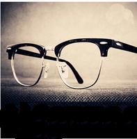 Retro punk rivets glasses frames men 2014 fashion brand optical frames women eye glasses oculos de grau y282