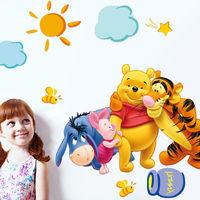 Winnie The Pooh Wall Decals Kids Bedroom & Baby Nursery Stickers Art Room Decor
