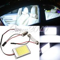 4pcs/lot T10 5050 COB LED Car Auto Interior Light Panel Festoon Dome License Plate Lamp Bulb BA9S DC12V Wholesale Free Shipping