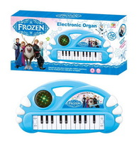 Frozen elsa costume anna Children electronic organ keyboard with song led light Learning Education Toy Musical Instrument