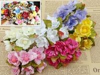 9C available diy plum blossom sakura peach blossom  flower wreath accessory garland decoration candy box accessory floral flower