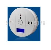 Carbon monoxide alarm CO honeycomb briquet stove soot gas alarm