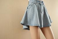 jeans skirt 2014 new arrive american apparel  A line denim women fashion skirt AA high waist skirt wholesale