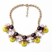 latest fashion women jewelry accessories metal statement  necklace