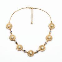 fashion women jewelry accessories metal statement  necklace