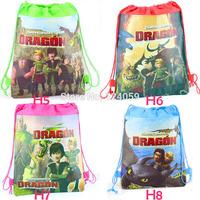 1Piece How To Train Dragon Kids Drawstring school bag,children cartoon printing backpacks bags,school backpacks,mochila kids