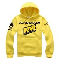 SteelSeries NAVI Natus Vincere Game Team men hoodies sweat shirt coat men's fleece PRO gamer hoody coat Outerwear