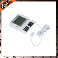 Pro'sKit Digital Temperature Humidity Meter with Probe White Thermometer Wholesale BR RU