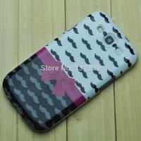 1pcs Brand New Beard Pattern TPU Gel Soft Back Case Cover For SamSung Galaxy S3 i9300 #HZ2