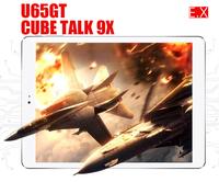 "cube talk 9X U65GT MT8392 Octa Core 1.66GHz Android 4.4 2GB 32GB 3G WCDMA Phone Call Tablet PC 9.7 "" IPS Camera Bluetooth GPS"