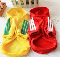 1pcs 7 colors adidog sweater pet clothing clothes dog Puppy Warm Coat wholesale